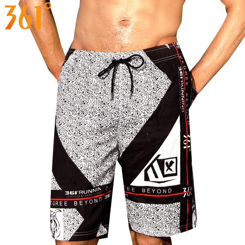 361 Men Swim Trunks Quick Dry Beach   Board     shorts   Beach Sports Surfing Pants 2019 Male Swimwear Trunks Bermuda Surf Boy Swimsuit