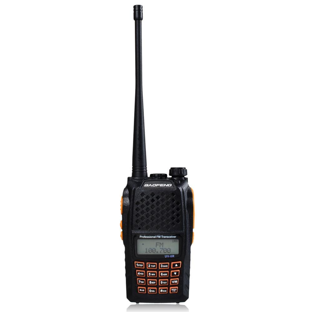 BAOFENG UV-6R Dual-Band Two-way Walkie-Talkie VHF//UHF 136-174//400-520MHz Radio
