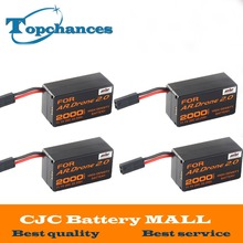 4X High Capacity 2000mAh 11.1V 20C 22.2Wh Powerful Li-Polymer Battery For Parrot AR.Drone2.0 Quadcopter