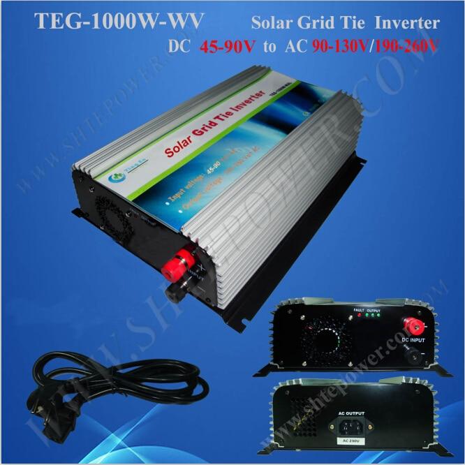 Anti-Island Protection input dc 45-90v 1000watt solar micro inverter grid tie сумка river island river island ri004bwzyz56