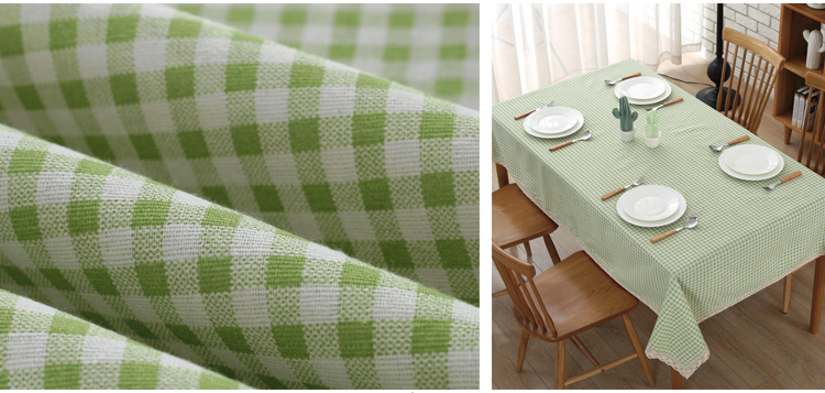 pastoral treliça retangular copo capa de mesa