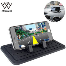 High quality Car Phone Holder Silicone Pad Dash Mat Cell Phone Car Mount GPS Holder Cradle Dock For Phone Anti-slip Desk Stand(China)
