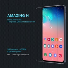 цена Tempered Glass Screen Protector for Samsung S10e NILLKIN Amazing H Nanometer Anti-Explosion Glass protective film