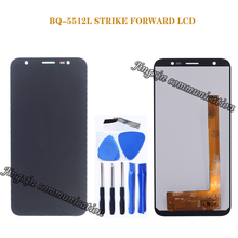 5.45 Origina display For BQ-5512L STRIKE FORWARD LCD Display Touch Screen Digitizer Replacement BQ 5512L Phone Parts