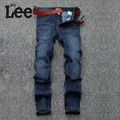 SULEE Men's Casual Straight Fitness Denim Jeans Pants Mens Business Formal Solid Jeans Size 28-40 RH971