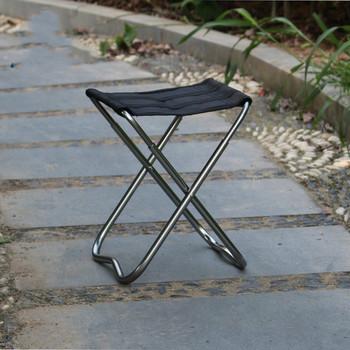Outdoor Camping Fishing Ultra Light aluminiowa składana ławka przenośne krzesło piknik meble ogrodowe stołek travel hiking tanie i dobre opinie Aotu 29*23*19 Aluminium alloy Angling chair