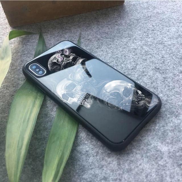 3D XAALAD AH OO KHUDBAD BADAN OO LAGUU KARO GLASS IPHONE CASE (15 VARIAN)