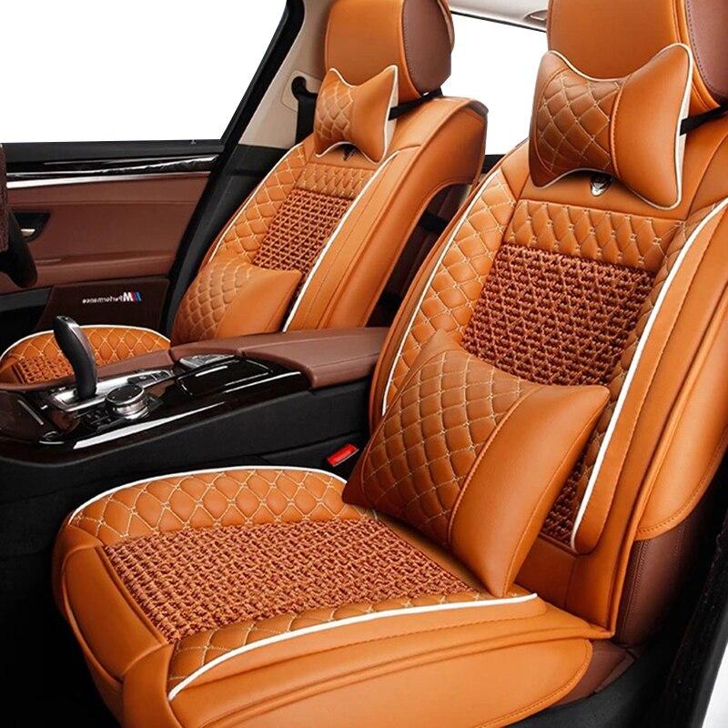 2013 MODEL BLACK // ORANGE CAR SEAT COVERS CUSTOM MADE TO FIT A CITROEN C1