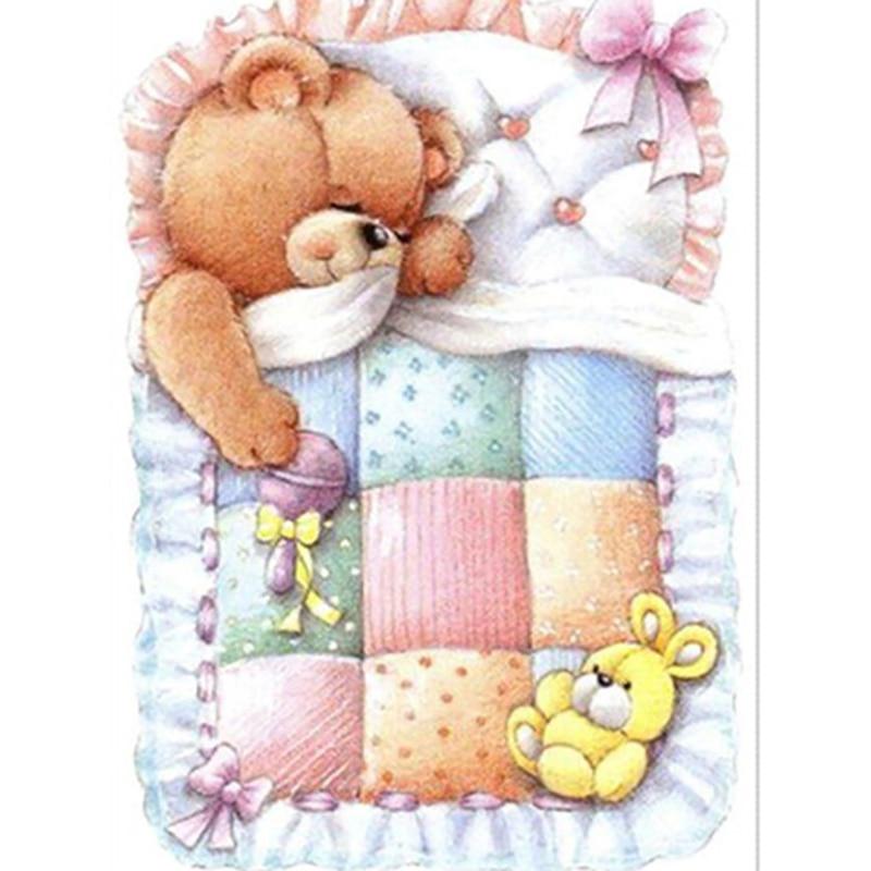 Картинки, открытки доброй ночи с мишками