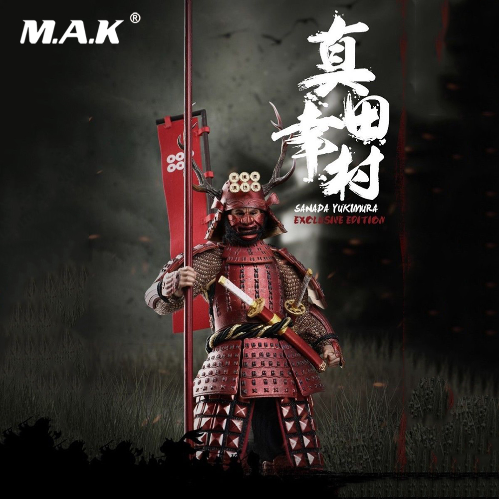 PE005 1/12 Collectible Full Set Pocket Age of Empires Series Sanada Yukimura Exclusive Version Model for Fans Holiday Gifts image
