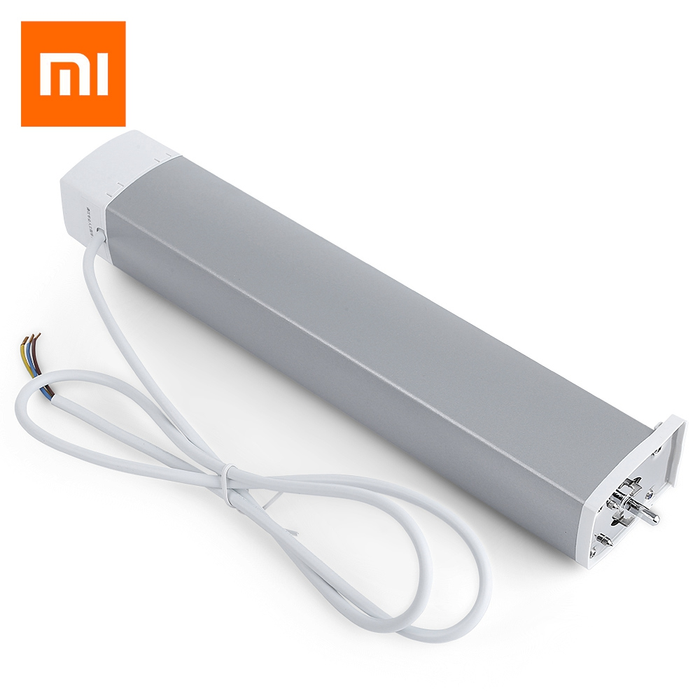 Rails de rideau d'origine xiaomi aqara, version wifi Zigbee, fonctionne avec l'application mi home pour la piste de rideau silencieuse xiaomi smart home