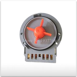 1 sztuk 95% nowy  oryginalny dla bębna pompa spustowa pralki silnika WF C863 WF C963 WF R1053 WF R853 używane w Części do pralek od AGD na