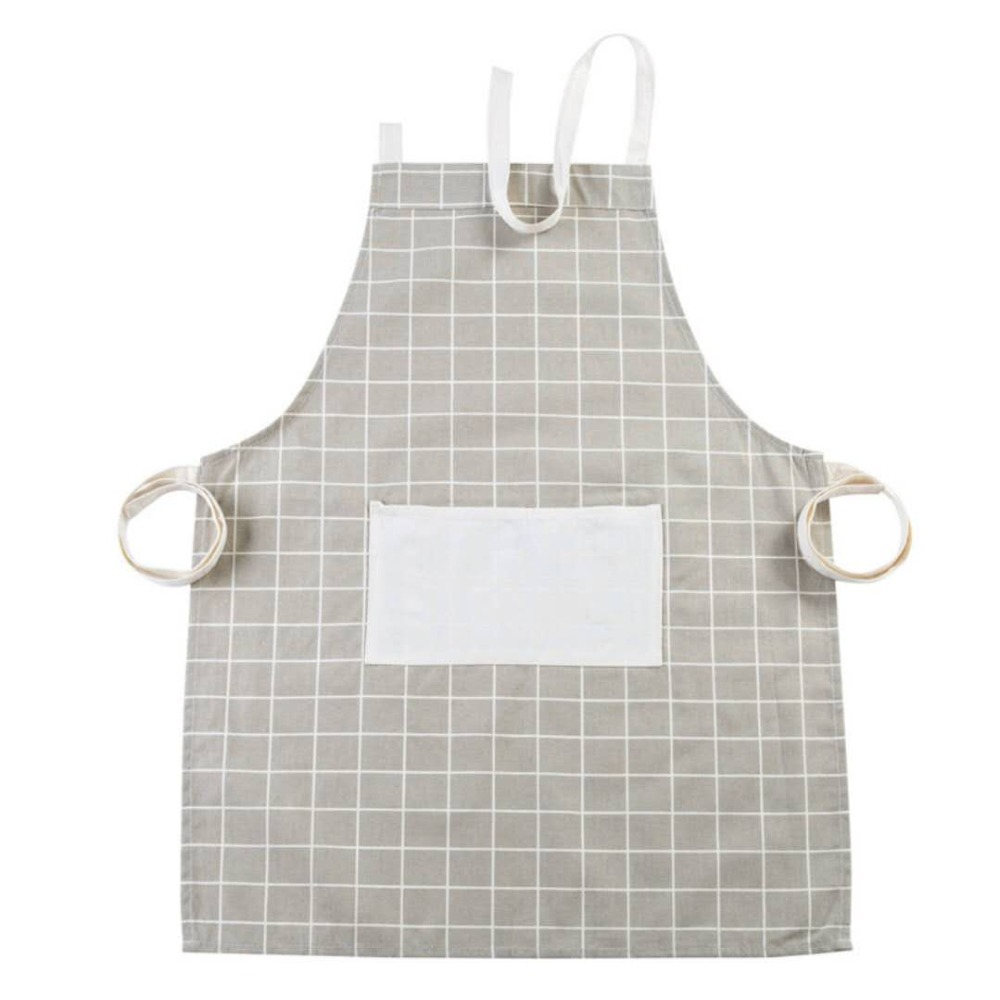 Watches, Parts & Accessories Sleeveless Apron Kitchen Cotton And Hemp Apron Oil-proof Thickened Waist Fashion Simple Adult Women 020 For Sale
