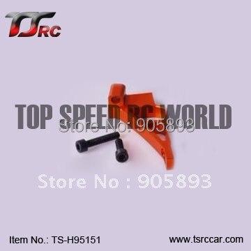 Baja metal parts ,CNC - Engine Strengthen mounts - orange, titanium (TS-H95151)+Free shipping!!! cnc main chassis ts h65001 orange available for baja metal parts baja parts wholesale and retail