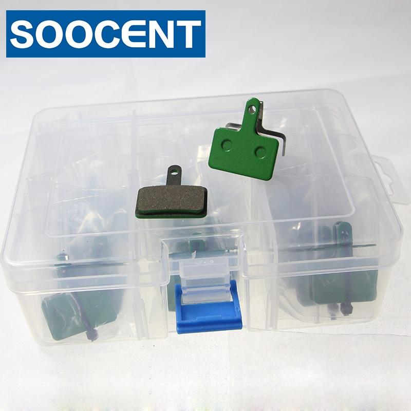 20 Pairs Green Brack Pads pads forShimano B01S Deore (BR M465 / 475/495/515/525) / Auriga Comp / Auriga Pro / Tektro Draco / Mota