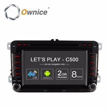 Ownice Android Car DVD Multimedia Video Player For Volkswagen Passat POLO GOLF Skoda Seat Leon GPS Navigation 4G LTE Network