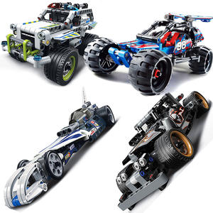 AUSINI technic car sets Building Blocks children toys