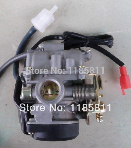 19mm Carb Carburetor For 4 Stroke 50cc 60cc 70cc 80cc SunL BAJA TNG CVK Scooter ATV Honda GY6 Jog50 Dirt Bike Moped цена