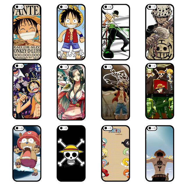 new style b4d32 0c37b US $7.22 |ONE PIECE New Fashion Cell Phone Case for iphone 6 & 6 plus  Silicone Soft Mobile Phone Cover Back Case for Iphone 4 4S 5 5S 5C on ...
