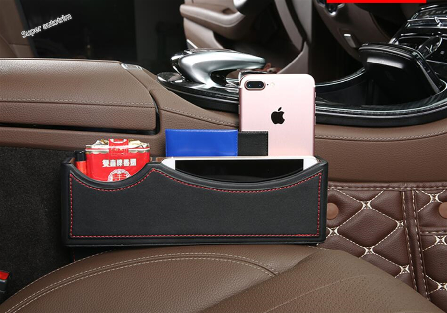 Lapetus For Land Rover Discovery Sport / Evoque Side Seat Storage Pallet Box Container Box Cover Accessories Interior Trim 1 Pcs