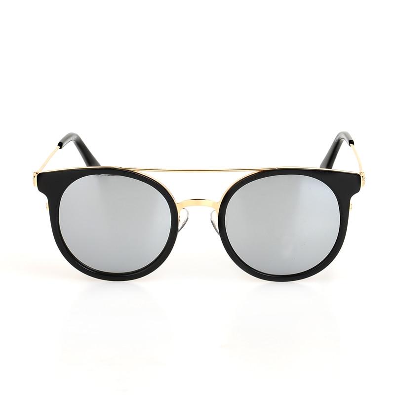 Silver Für Designer Sonnenbrille And Runde black Black Ee Rahmen Oculos Linse Legierung Feminino De Mode Marke tortoise Frauen Frame Sol Black OqaZwqEA