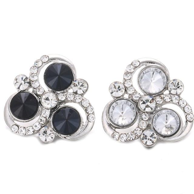 10 sztuk/partia wysokiej jakości 18mm przystawki przycisk biżuteryjny duże kolorowe kwiat zatrzaski Fit Snap bransoletka dla kobiet zatrzaski biżuteria