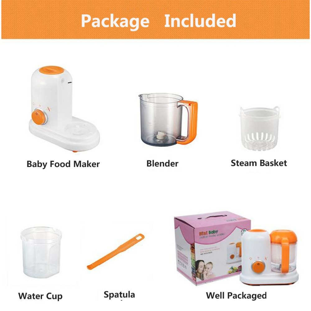 Baby Food Maker 4 in 1 Steam Cooker Blender Processor Baby Feeding Maker Organic Food Best for Toddlers and Infants  (10)