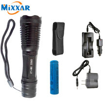 ZK5 CREE XM-L2 LED Flashlight ZOOM L2 T6 4500LM powerful Waterproof 5 Modes Adjustable Led Torch Flashlight Linterna Lamp