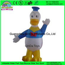 Adult walking Donald Duck mascot costume/inflatable moving cartoon