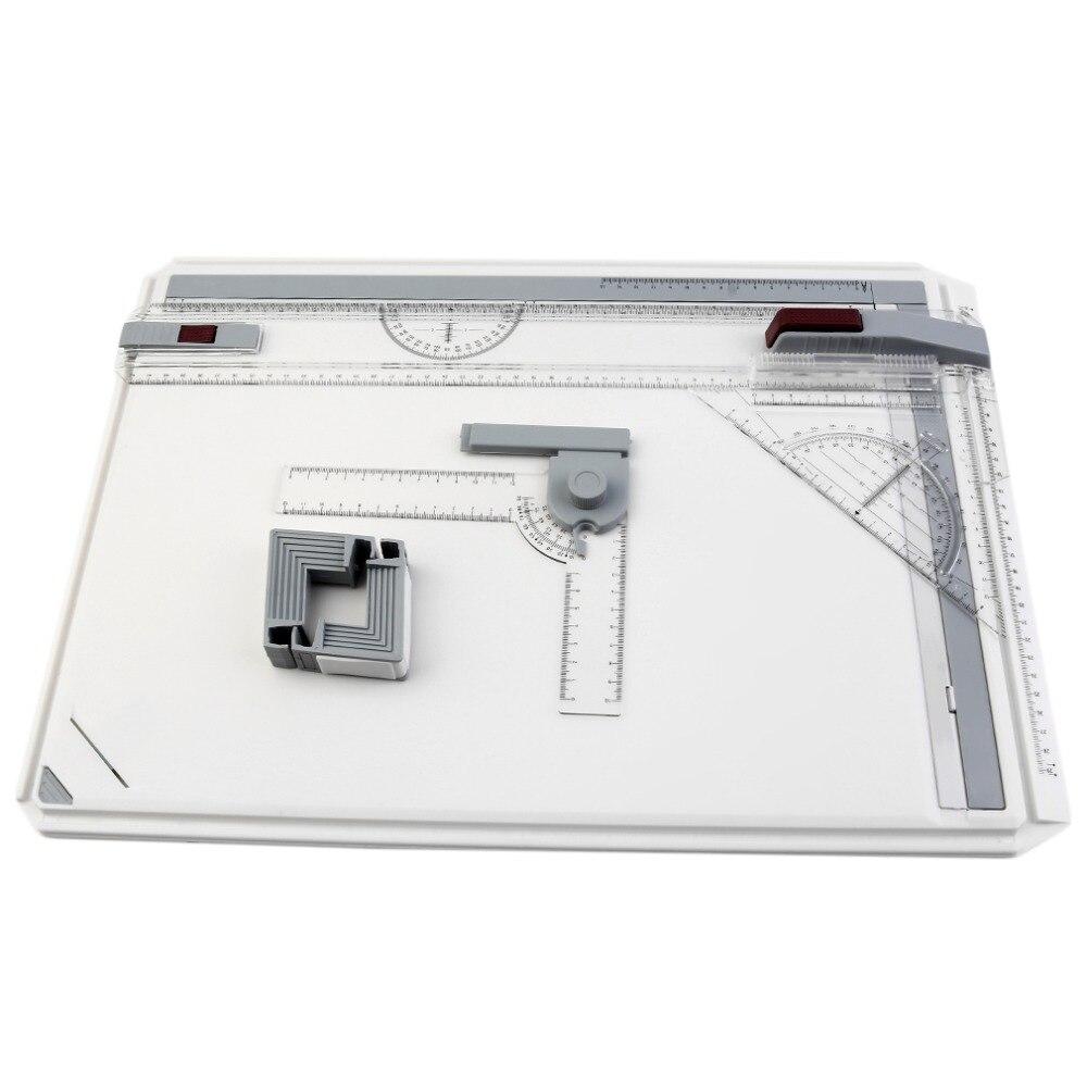 A3 Planche à Dessin Table avec Mouvement Parallèle et Réglable Angle Rapporteur Pour Avis Art Peinture Outils NOUVEAU Dessin Palette