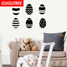 Decorate happy easter art wall sticker decoration Decals mural painting Removable Decor Wallpaper LF-1929 happy easter letters printed tapestry wall art
