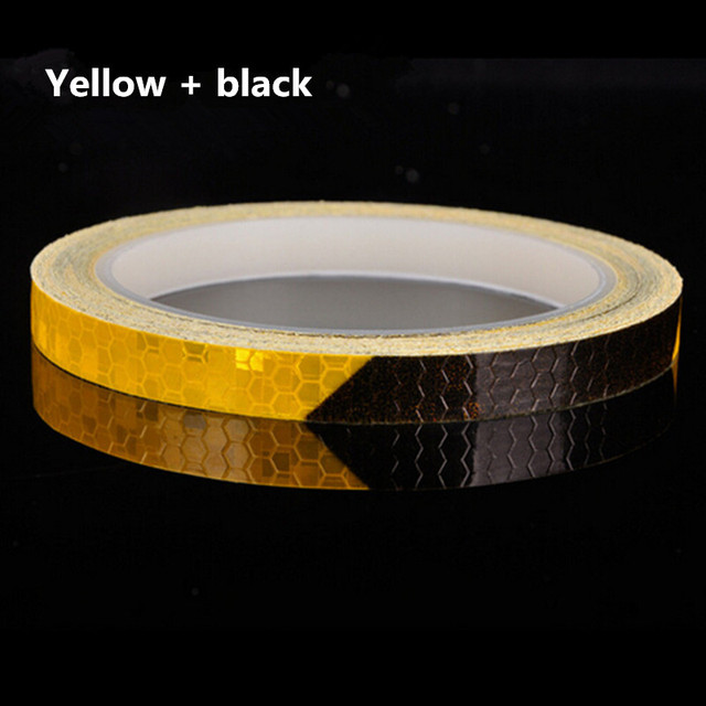 Reflective Tape Fluorescent MTB Bike Bicycle Cycling MTB Reflective Stickers Adhesive Tape Bike Stickers Bicycle Accessories 4
