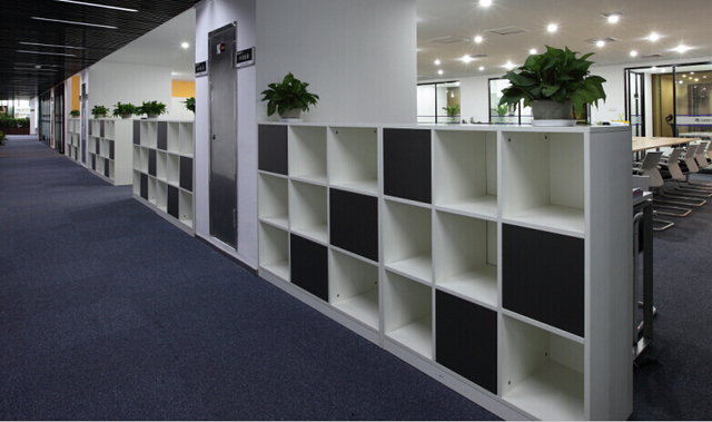 Yue Zi Furniture Minimalist Modern Office Partition Ikea Bookcase Shelves  And Cupboards