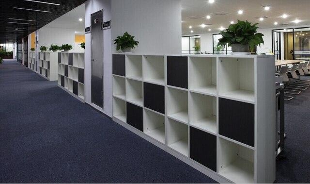 Yue Zi muebles minimalista moderno partición oficina Ikea estantería ...