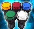 1 ШТ. 220В 22 мм Для Монтажа в Панель СВЕТОДИОДНЫЙ Индикатор Питания Пилот-Сигнал Свет Лампы