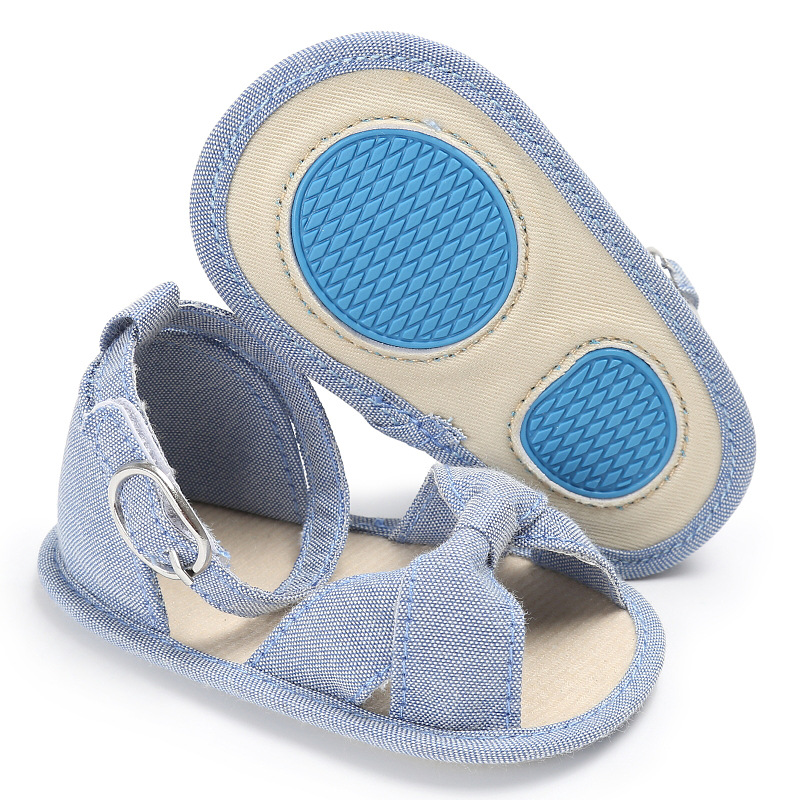 Raise Young Summer Newborn Baby Girl First Walkers Non-slip PVC Sole Fashion Infant Girl Shoes For 0-18M