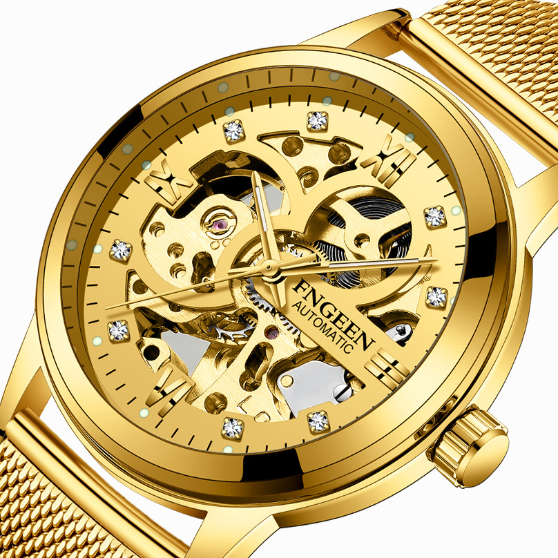 Luxury Brand Watch Men Automatic Mechanical Wristwatches Mens watches Black Stainless Steel Skeleton Casual Business Male ClockLuxury Brand Watch Men Automatic Mechanical Wristwatches Mens watches Black Stainless Steel Skeleton Casual Business Male Clock