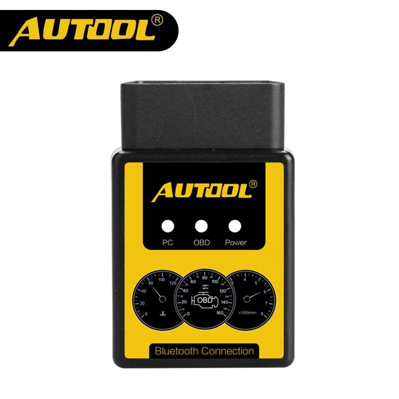 AUTOOL A1 OBD2 V1.5 Scanner Bluetooth/WIFI OBD2 OBD II Auto Car Diagnóstico Scanner Funciona em Android Melhor do que ELM327