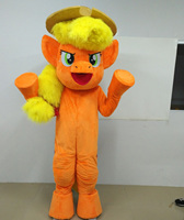 Cartoon Characters Pony Mascot Horse Mascot Costumes Cosplay Theme Mascotte Carnival Costume Fancy Party Dress Funny Mascots