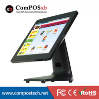 New Product 15 Touch Screen all in one POS System With 15 Inch Capacitive Touch Screen Restaurant Cash Register