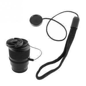 Image 3 - 5 Pcs 23cm אוניברסלי עבור DSLR עדשת כיסוי שווי מחזיק Keeper רצועת מחרוזת חבל רצועה עבור Canon מצלמה אבזרים