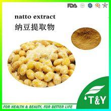 Naturales Natto Nattokinase Extracto En Polvo/Alta calidad Natto extracto En Polvo/Polvo de Extracto de Semilla de Natto