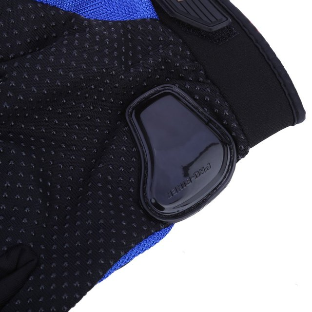 Paired Half-finger Motorcycle Gloves Motorbike Outdoor Sports Riding Breathable Protective Gears Suitable for Night Riding