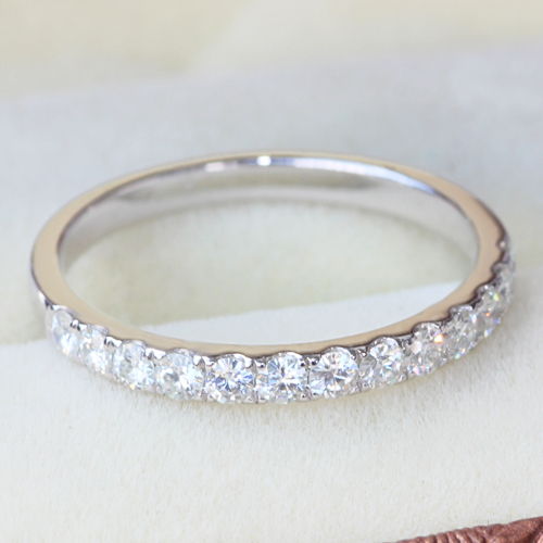 aliexpress buy 0 455 carat ct 2mm moissanite wedding
