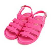 Mini Melissa Girls Sandals Flox Boys Baby Shoes Kids Jelly Soft Insole PVS Shoe Rose Pink