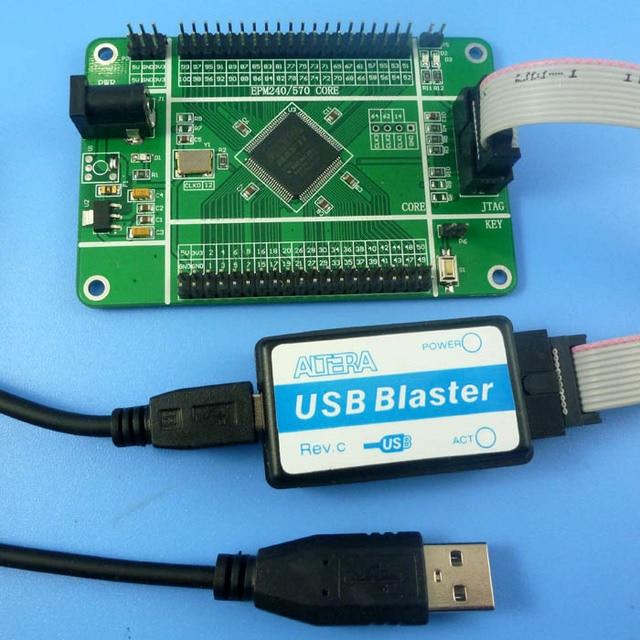 EPM570 Board + USB Blaster CPLD FPGA Downloader Replace EPM240 Development Kit