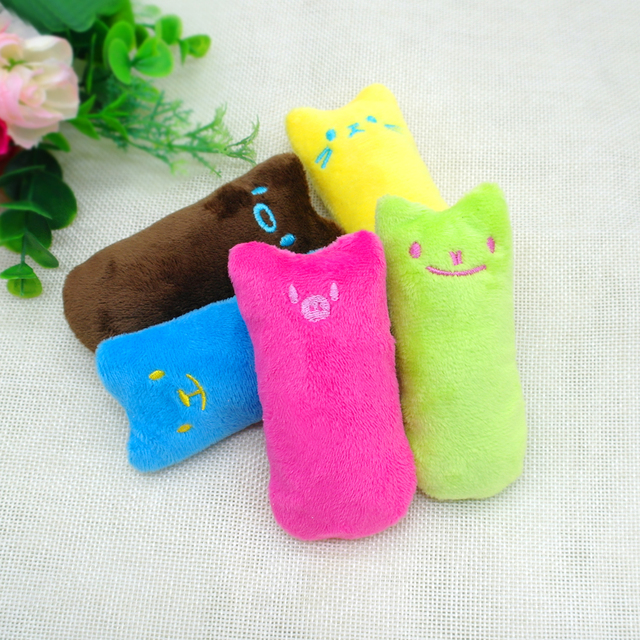 Colorful Plush Cat's Toy