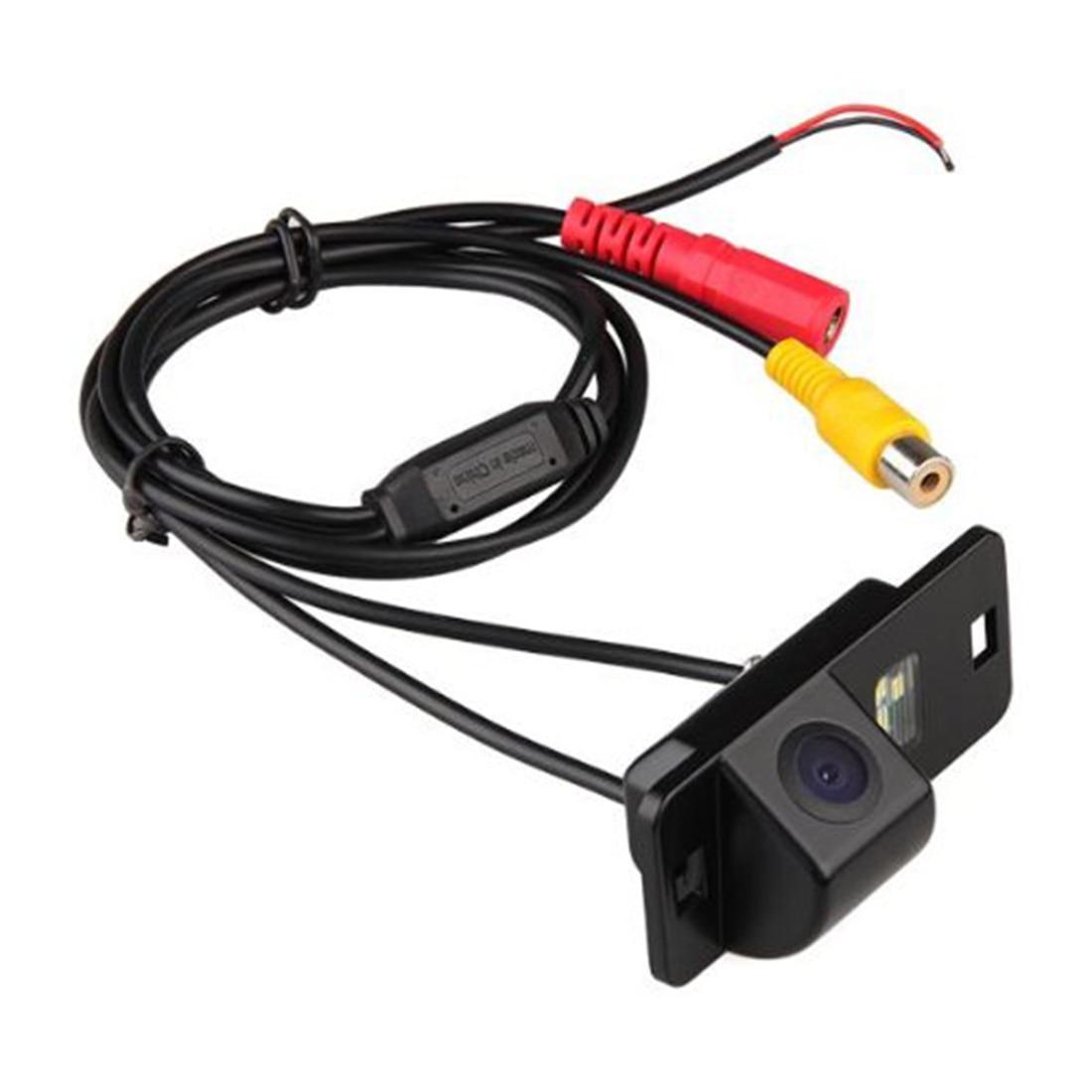 Marsnaska CMOS Ver Traseira Do Carro de Backup Reversa Estacionamento Câmera Night Vision Impermeável Para BMW X5 X6 Preto