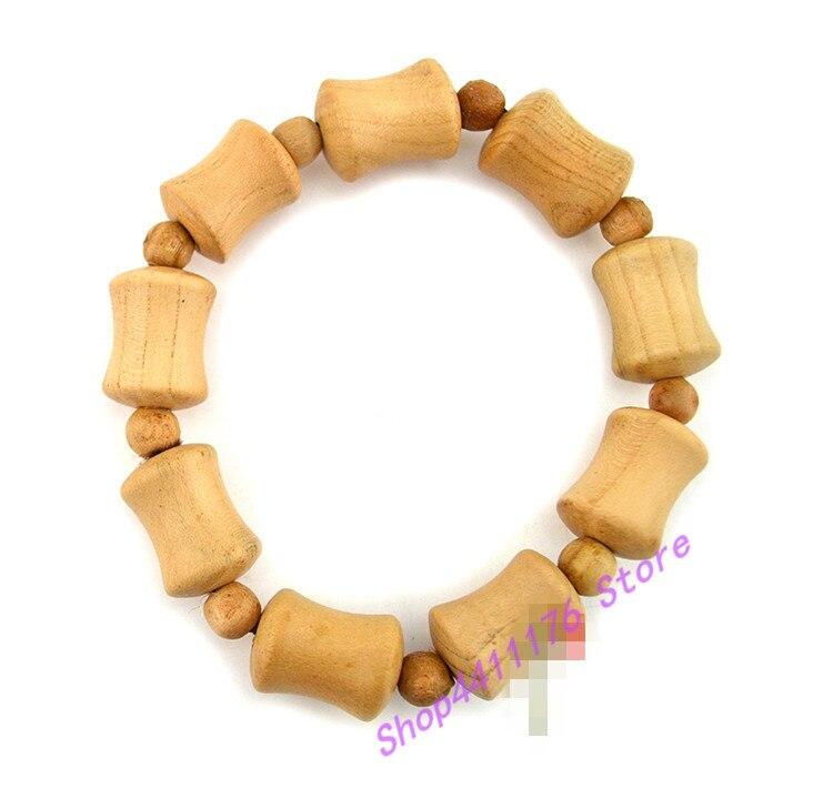 Персиковый деревянный утолщенный браслет женские бусы буддистские ювелирные изделия ПЕРСИК и бамбук бутик ручные Струны для мужчин и женщин влюбленных