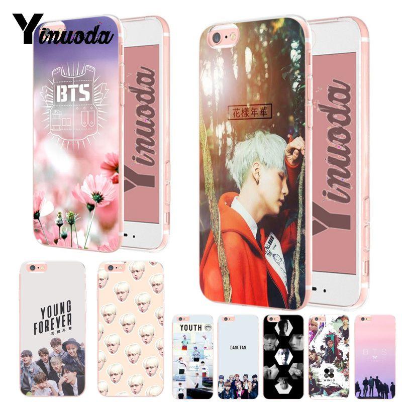 Yinuoda BTS band Bangtan Boys 2 Fashion Luxury phone case accessories for